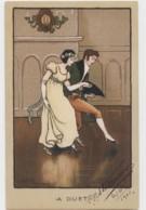"""CPA ILLUSTRATEUR PARKINSON Ethel 1913 """" A Duet """"  (lot Pat 24) - Parkinson, Ethel"""