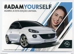 CP Pub Portugaise Neuve - Opel Adam - Voiture En édition Limitée à 50 Exemplaires Seulement - Turismo