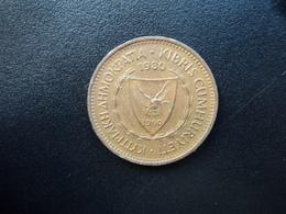 CHYPRE : 5 MILS  1980    KM 39    SUP 55 - Chypre