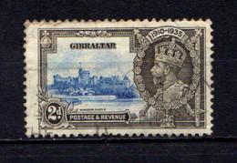 GIBRALTAR    1935    Silver  Jubilee   2d  Ultramarine  And  Grey  Black    USED - Gibraltar