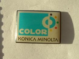 PIN'S PHOTOGRAPHIE - COLOR KONICA MINOLTA - Photography