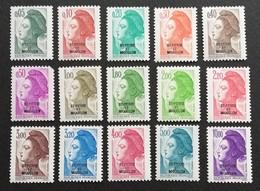 St Pierre & Miquelon  1986 Definitive - Stamps