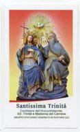 Ruffano (Lecce) - Santino SANTISSIMA TRINITÀ - PERFETTO P87 - Religione & Esoterismo