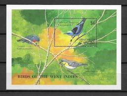 GRENADINES DE St VINCENT Oiseaux  N° BF42B Neuf** Cote 8€ - Non Classificati