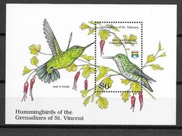 GRENADINES DE St VINCENT Oiseaux  N° BF78 Neuf** Cote 8€ - Birds