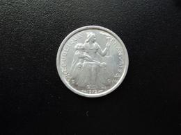 POLYNÉSIE FRANÇAISE : 1 FRANC   1975   G.3 / KM 11     SPL * - Polynésie Française