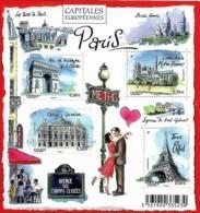 France 2010 Capitales Européennes PARIS, 1 Bloc Mnh - Blocs & Feuillets