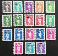 St Pierre & Miquelon 1990-96 Definitive LOT - Stamps