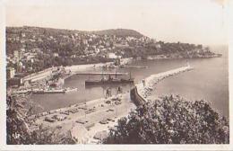 Nice   1549       L'entrée Du Port Et Le Mont Boron - Transport Maritime - Port
