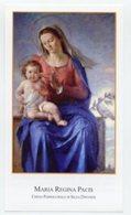 Silea (Treviso) - Santino MARIA REGINA PACIS - PERFETTO P87 - Religione & Esoterismo