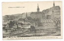 Lobbes L' Abbaye De Lobbes En 1740 Hainaut Belgique - Lobbes