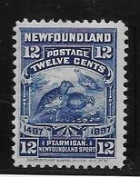 Terre Neuve N°56 - Oiseaux - Neuf * Avec Charnière - TB - Timbres