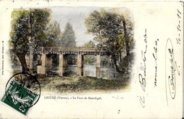 86 LIGUGE   -  LE PONT  DE BOURDIGAL - Frankreich