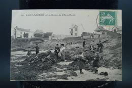 Carte CPA Saint Nazaire Les Rochers De Ville-ès-Martin - Saint Nazaire
