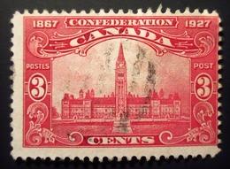 1927 Canada Yt 122, Yt 123 Oblitérés 2 Scans - 1911-1935 Règne De George V