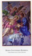 Silea (Treviso) - Santino MARIA SANTISSIMA BAMBINA - PERFETTO P87 - Religione & Esoterismo