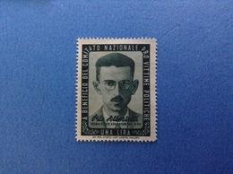 1944 MARCA 1 LIRA PRO VITTIME POLITICHE ALBERTELLI NUOVA SENZA GOMMA - 5. 1944-46 Lieutenance & Humberto II