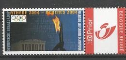 Olympische Fakelloop 2004 Athene - België