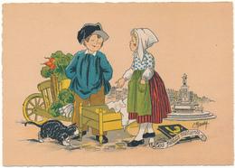 BARRE DAYEZ -La Petite Marchande De Fromage - 1209 D (1945) - Non Classés