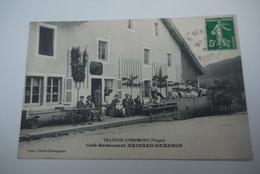 TRAVEXIN  CORNIMONT    CAFE  RESTAURANT  MEINRAD  DEMANNGE - Autres Communes