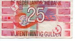Pays-Bas, 25 Gulden Type 1989 - 25 Gulden