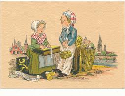 BARRE DAYEZ -La Dentellière Et Le Petit Marchand D'Allumettes - 1209 H - Imprimé 1943 - Non Classés