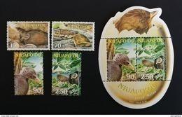 Niuafo'ou 2002** Mi.395-98 + Bl.34. Birds [19;142] - Non Classificati