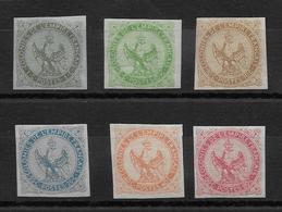 Colonies Générales N°1/6 - Neuf * Avec Charnière - TB - Eagle And Crown