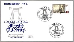 500 Años Nacimiento Pintor ALBRECHT ALTDORFER (1480-1558) - Painter. SPD/FDC Bonn 1980 - Arte