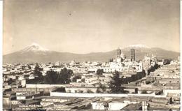 POSTAL   - PUEBLA  - MEXICO  - EL POPOCATEPETL Y EL IXTACCIHUATL - México