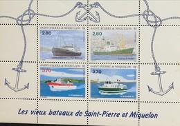 St. Pierre & Miquelon  1994 Ships S/S - Timbres