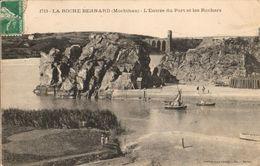 56 - LA ROCHE BERNARD - L'ENTRÉE DU PORT ET LES ROCHERS - La Roche-Bernard