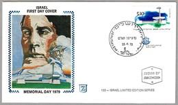 NAVY MEMORIAL ASHDAD - Memorial Day 1979. SPD/FDC Jerusalem 1979 - Militaria