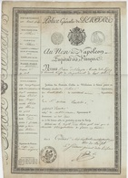 Passeport Laisser PasserPolice Générale Colmar Généalogie Toucher Canton D'Argovie - Documents Historiques