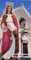 Galatina (Lecce) - Santino SANTA CATERINA D'ALESSANDRIA Frati Minori - PERFETTO P87 - Religione & Esoterismo