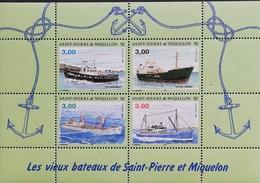 St. Pierre & Miquelon  1996 Ships S/S - Timbres