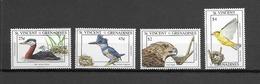 St VINCENT Et GRENADINES Oiseaux N° 1763 à 1766 Neufs** Cote 10€ - Birds
