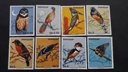Paraguay 1983** Mi.3668-74. Souths Birds. - Birds