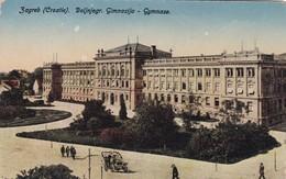 ZAGREB, CRIATUE. NAKLADA RUDOLF POLACEK. CIRCA 1910s- BLEUP - Kroatië