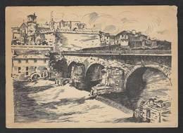 Portugal Carte Entier Postal Pont A Barcelos Voyagé 1958 Postcard Stationery Barcelos Bridge - Ponts