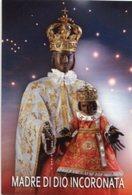Foggia - Santino MADRE DI DIO INCORONATA - PERFETTO P87 - Religione & Esoterismo