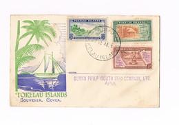 Tokelau Islands - Souvenir Cover - 1948 - Tokelau