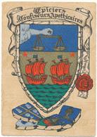 BARRE DAYEZ - Blasons, Epiciers, Confiseurs, Apothicaires - 1306 W - Illustrateurs & Photographes