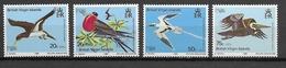 ILES VIERGES BRITANNIQUES Oiseaux N° 392 à 395 Neufs** Cote 5€ - Birds