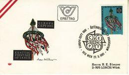 AUSTRIA  1981 EUROPA CEPT  FDC - Europa-CEPT