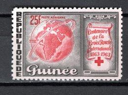 GUINEE PA N° 35  NEUF SANS CHARNIERE COTE  1.30€  CROIX ROUGE - Guinée (1958-...)