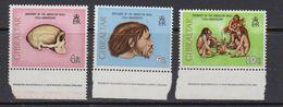 Gibraltar 1973 Gibraltar Skull 3v (+margin) ** Mnh (41506) - Gibraltar