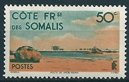 Frz. Somaliküste  1947  Fm 50c  Mi-Nr. 288 Postfrisch/MNH - Französich-Somaliküste (1894-1967)