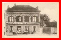 Combault Restaurant Des Sports   ( Scan Recto Et Verso ) - France