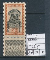 CONGO KINSHASA STANLEYVILLE COB 5 MNH - Katanga
